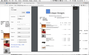 Client View: Proposal Print View