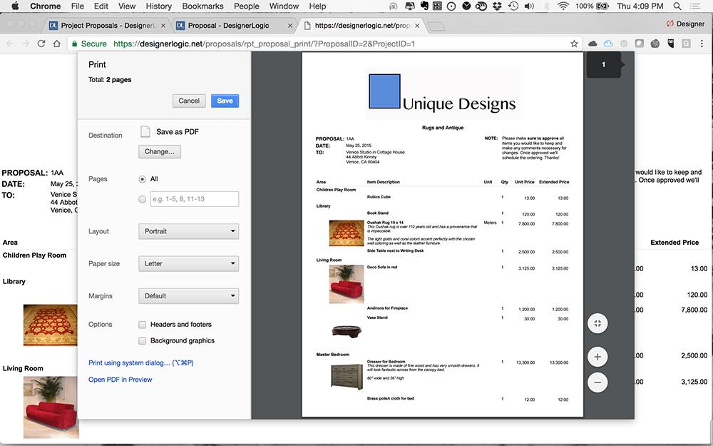 photograph about Printout Designer named Inner Structure Software program - DesignerLogic Cloud